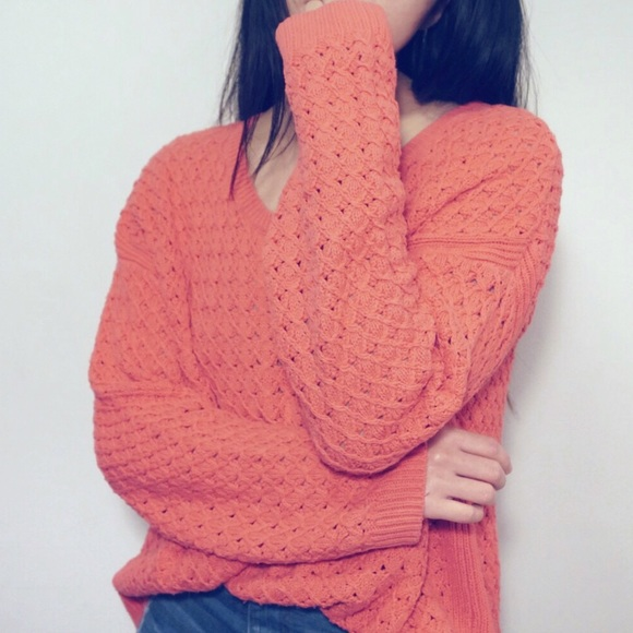 3/$20 Old Navy Salmon Knit Sweater